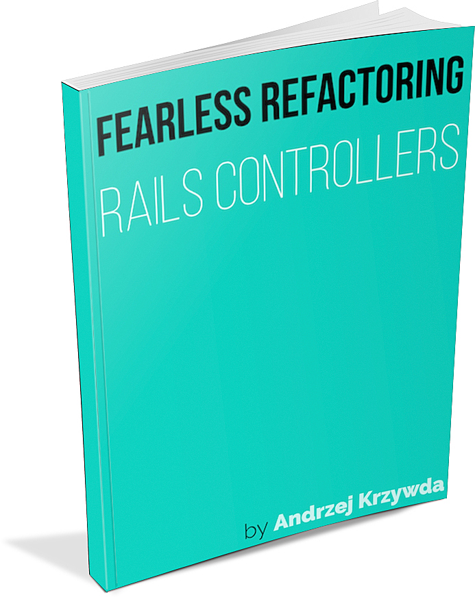 Improve your Rails code - Read my book